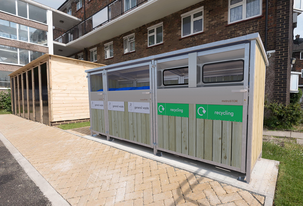 metroSTOR PBL-5 with ForestPanel cladding