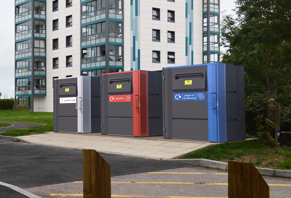 Fire rated bin storage units - metroSTOR QF