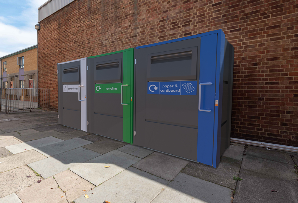 Fire rated bin stores - metroSTOR QF