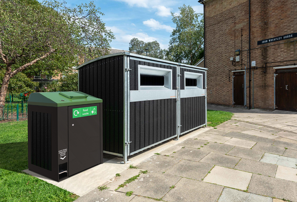 Food waste collection unit - metroSTOR FWD