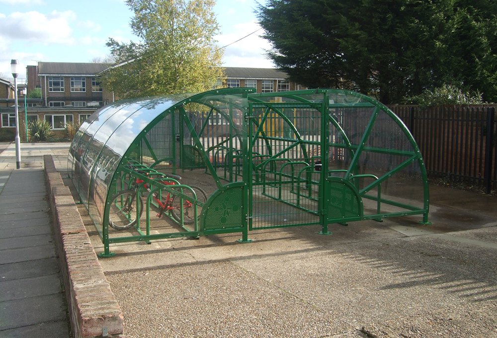 CENTAUR CL semi-enclosed cycle shelter