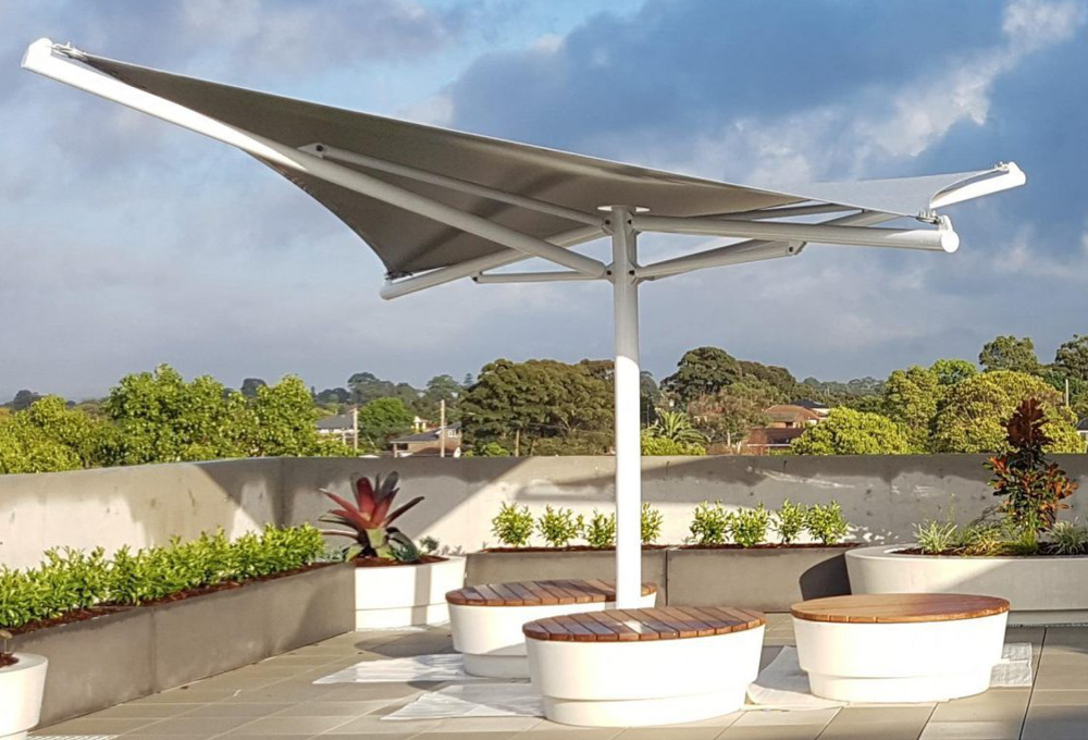 Grey fabric canopy - ORION Star