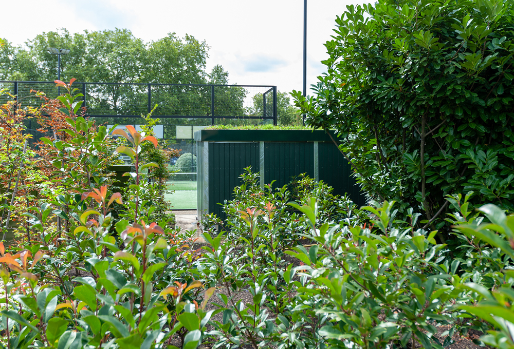 Green Roof Storage Unit at Will To Win, Hyde Park