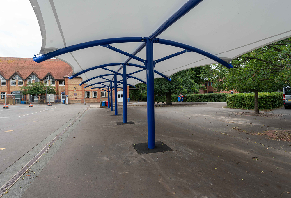 Playground Canopy, Roding Valley High School, Loughton